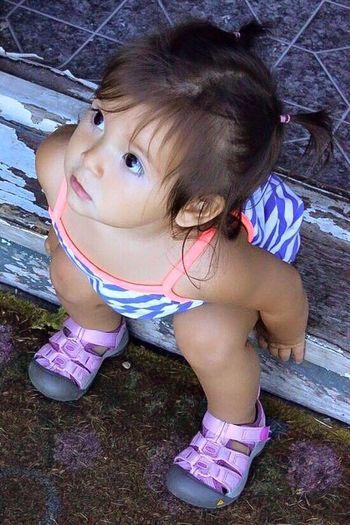Sweet Baby Girl Portraits Peruvian Girl Enjoying Life EyeEm Gallery Eye4photography  Familyfirst Niece & Auntie <3