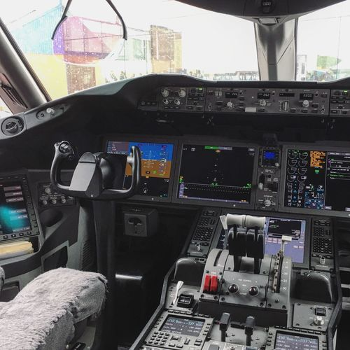 Aerospace Industry Air Vehicle Airplane Baltic Baltic Countries Boeing 787 Boeing 787-8 Cockpit Cocpit Control Control Panel Dreamliner Estonia Flying Franek Indoors  Lot LOT787inTLL Poland Tallinn Technology Transportation Travel Vehicle Interior Warsaw