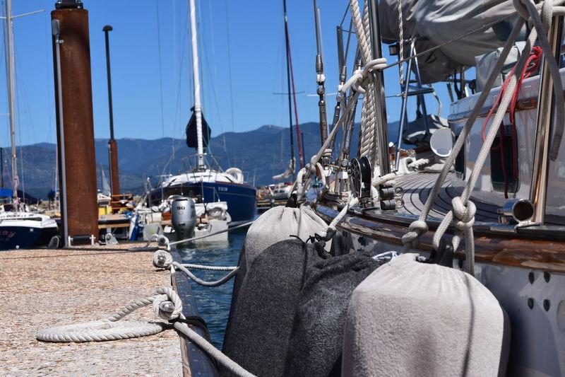 Dock Lake Marina Rigging Sail Sailing Sandpoint