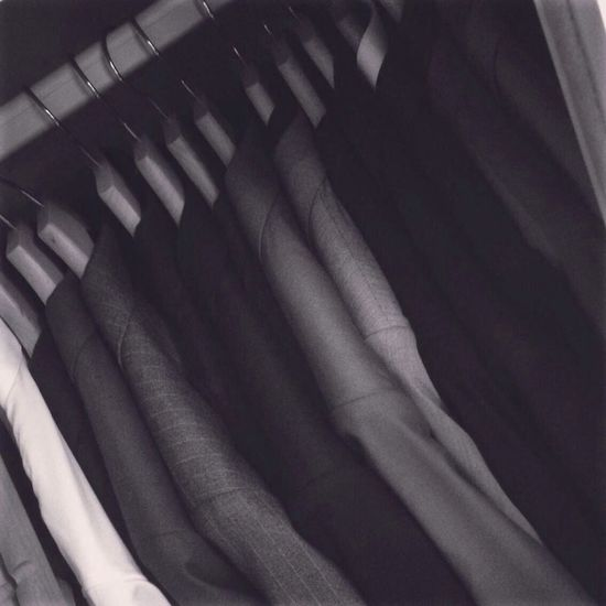 My wardrobe…