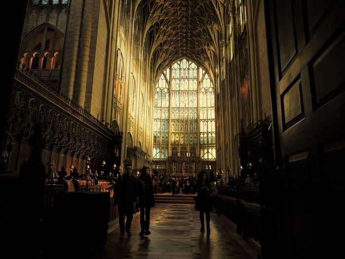 People In Gloucester Cathedral