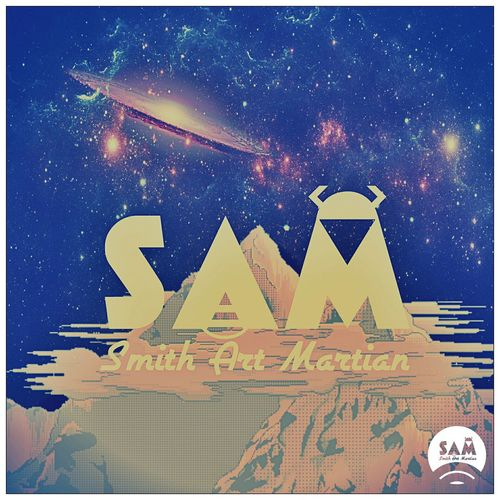 Smith Art Martian Custom Space Smithartmartian Cover Graphicdesign Handmade Art Canvas ArtWork Designer  Galaxy