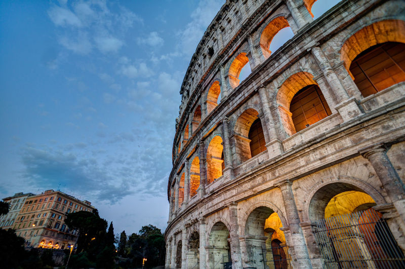 Arch Architecture Building Exterior Built Structure Capital Cities  City City Life Cloud Cloud - Sky Colosseo Colosseum Culture Day Façade Famous Place History Italy Italy❤️ Low Angle View No People Outdoors Sky Tourism Travel Travel Destinations