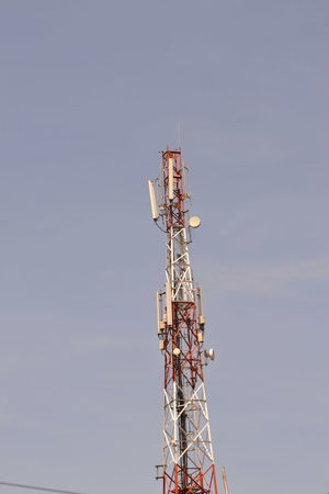 Communication Tower Sattelite Dishes Networks Picking Phone Dignals Sending Phone Signals Luzira, Uganda Mobile Phone Tower Tv Aerial Global Communications Wireless Technology Antenna - Aerial Connection And Communication