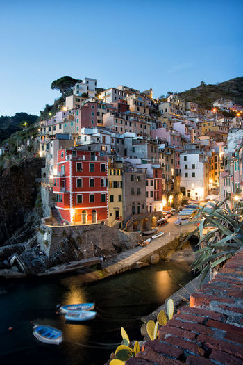 *Riomaggiore at evening* Architecture Architecture_collection Cinque Terre Cities At Night Cityscape Harbour Maritime Mediterranean  Ocean View Old Town Riomaggiore, TOWNSCAPE Travel Architecture At Night Evening House Italy Long Exposure Ocean Old Buildings Old City Outdoors Riomaggiore Town