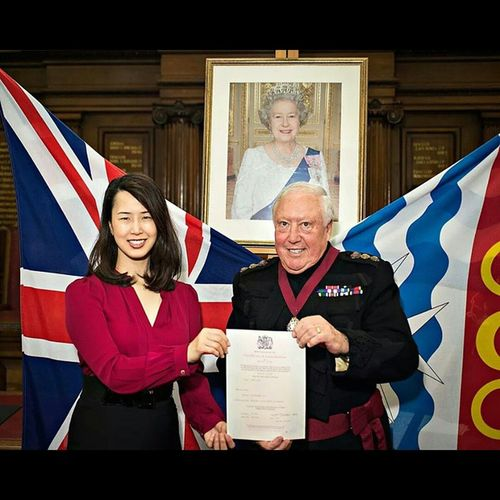 Me missus is now a British, innit. Aiii British Uk Citizenship ceremony London Islington TownHall UnionJack Queen