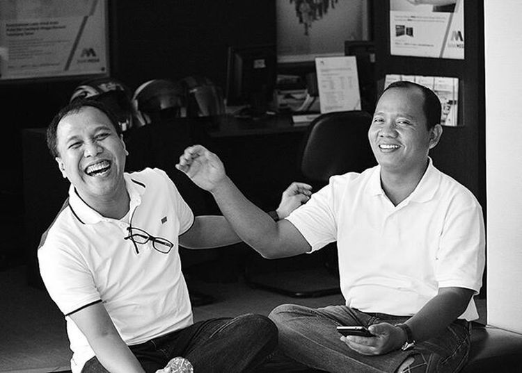 When laugh beats anything... Friends Close Friend Human Interest Office Mate Laugh Expression Nikon D3200