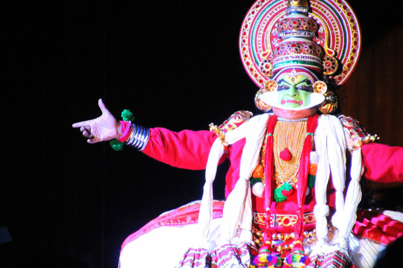 Kathakali Dance Culture Tradition Kerala_tourism Eyeem India - Kerala (god's Own Country ) Kerala Traditional Dance Arts Culture And Entertainment Artist Stage Performance Indian Dance Form Kerala Tradition Kathakali Performer Kerala Tourism Kerala Traditional Artform Kerala Folkdance Indian Indian Culture  Kathakali Indian Culture