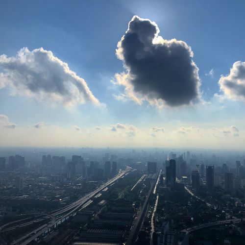 Sawaddee, this is Bangkok. Thailand🇹🇭 Bangkok Sky Architecture City Built Structure Building Exterior Outdoors Cloud - Sky No People Cityscape Skyscraper Transportation Day Urban Skyline