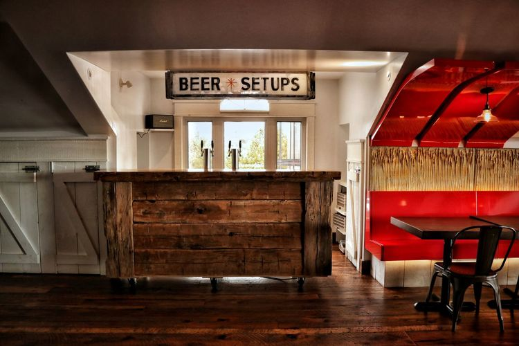 Beer O'Clock 🍻 Light And Shadow Day Indoors  Bar Red Window Sign Chair Lighting Wood Floor Niagara Falls Canada Chair Bar - Drink Establishment Architecture Seat Absence Bench Empty Room 17.62° My Best Photo
