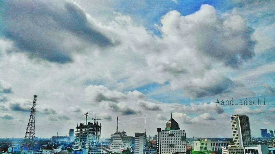 Good morning Cloud - Sky Outdoors City Urban Skyline Cityscape Architecture Explore Nature AndroidPhotography INDONESIA LenovoVibeZ Beautynature EyeEmtoday High Angle View Eeyemstory Beauty In Nature Bestoftheday And_adachii Photooftheday Bridge Photography Helloworld HelloEyeEm