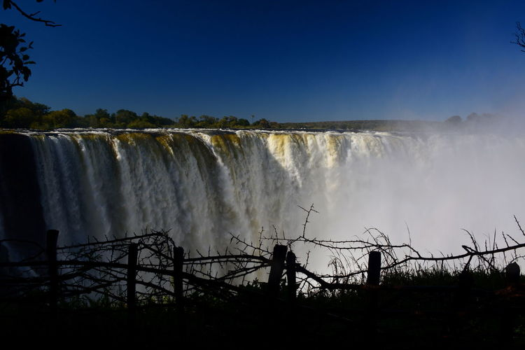 Victoria Falls. Zimbabwe Africa African African Beauty Stanley Livingstone Travel Travel Photography Travelphotography Victoria Falls Water Water_collection Waterfall Waterfall_collection Waterfalls Zambesi Zambia Zimbabwe The Great Outdoors With Adobe The Great Outdoors - 2016 EyeEm Awards