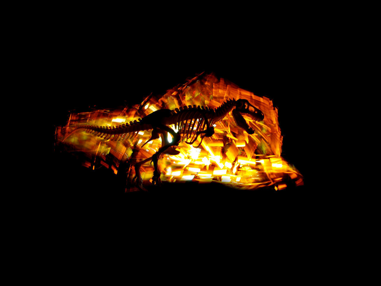 night, orange color, copy space, burning, heat - temperature, flame, fire, illuminated, no people, fire - natural phenomenon, dark, glowing, motion, nature, studio shot, black background, close-up, outdoors, wood - material, log, bonfire