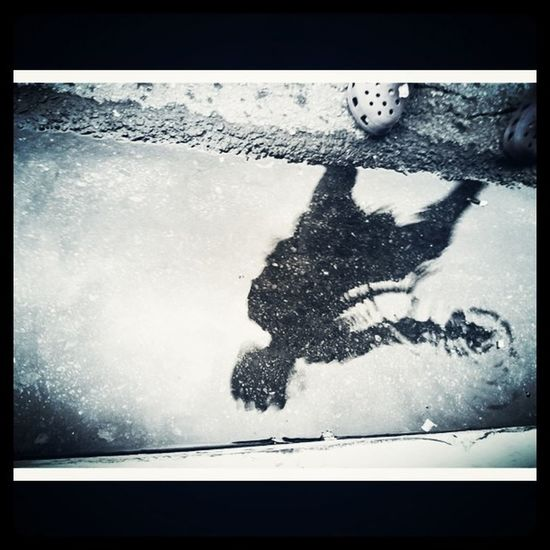 The puddle jumper. #reflection #kids #watet #dc #spikep Reflection Kids DC Watet Spikep