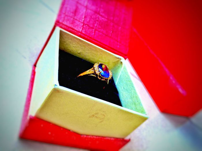 Galaxy Jewelry Gold Ring Gift