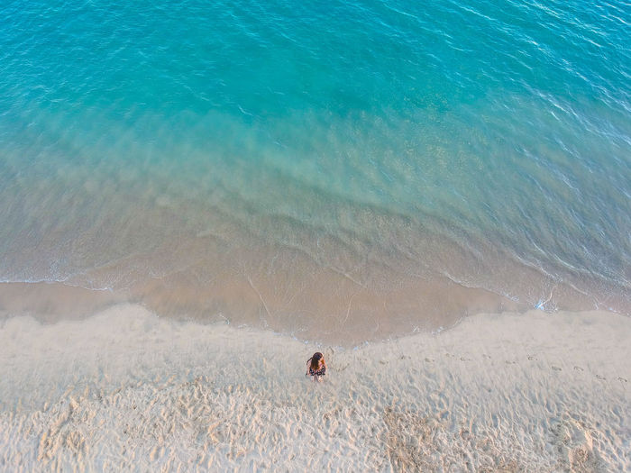 Alone Canarias Canary Islands Drone  Fuerteventura Lady Lonely Woman Beach Beauty In Nature Canary Day Girl Land Morro Jable Nature No People Ocean Outdoors Scenics - Nature Sea Tranquil Scene Tranquility Water Young Adult