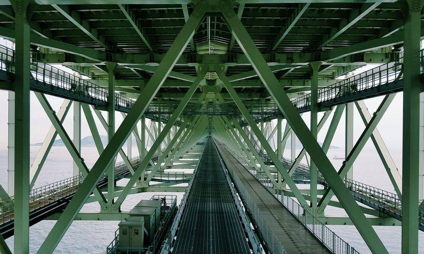 Under a bridge, over the water. Green Bridge The Architect - 2016 EyeEm Awards Architecture Urban Japan ASIA