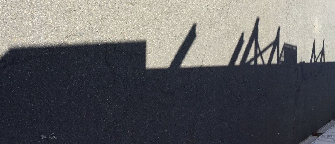 2015 | Photo: Michael F. Pichette Shadow Focus On Shadow Outdoors Taking Photos Abstract Photography