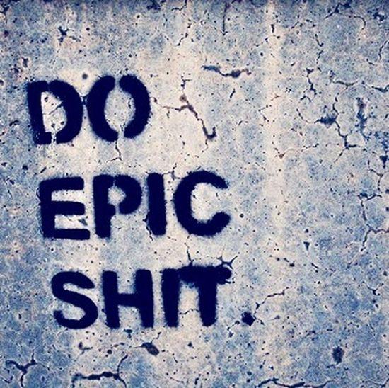 EPIC SHIT ?✋ Epicshit Epic Black And White