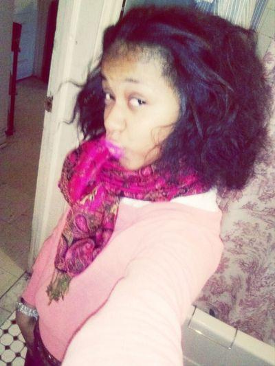 hair on point , all mine <3