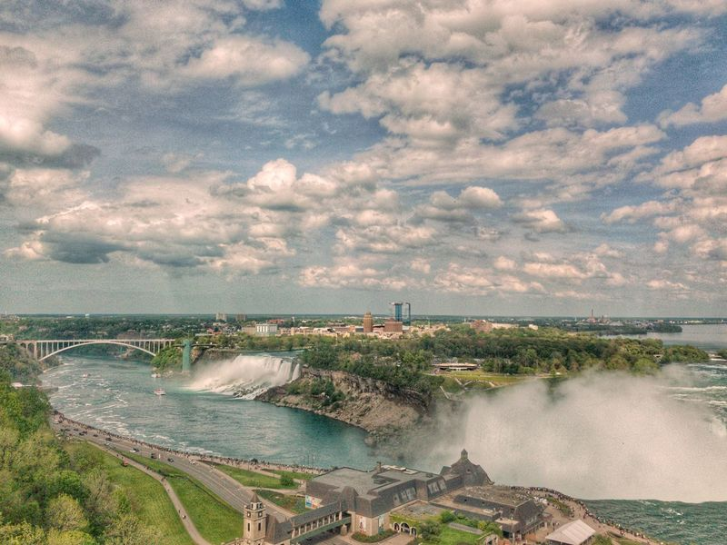 Niagara Falls Water Sea Cloud - Sky Sky Nature Beauty In Nature Outdoors