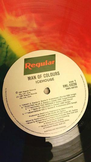 Vinyl Records Icehouse Australian Collector's Item