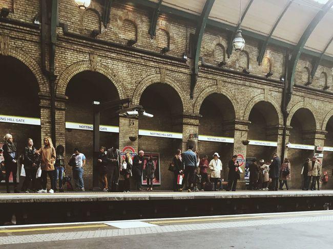 Train Station Londonunderground Bayswater