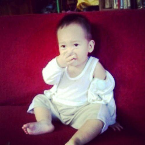 our precious baby Gian moment ... - KulangotBoy BabyKugmo