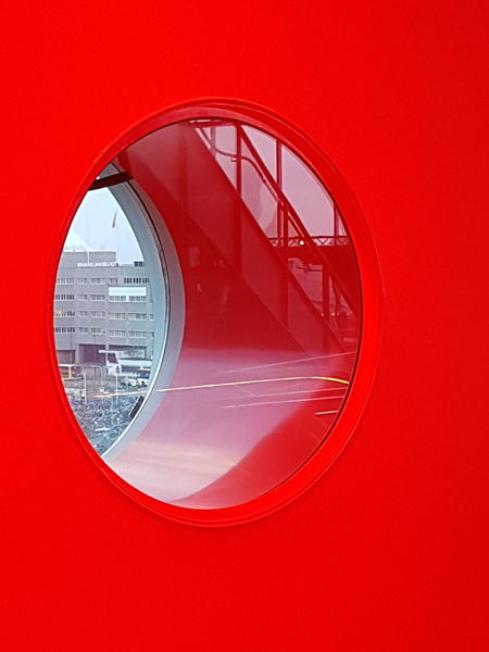 window EyeEm Selects Inside Photography Window Frame Red Circle Close-up