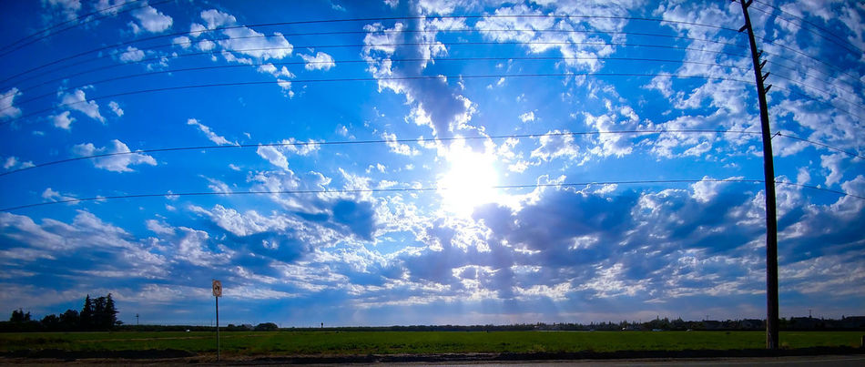 Social Issues Rural Scene Cloud - Sky No People Blue Agriculture Fragility Day Nature Sky Outdoors Landscape Scenics Tree Beauty In Nature Freshness