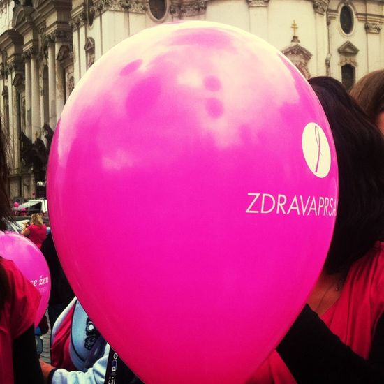 Help to Avon Pink Baloon