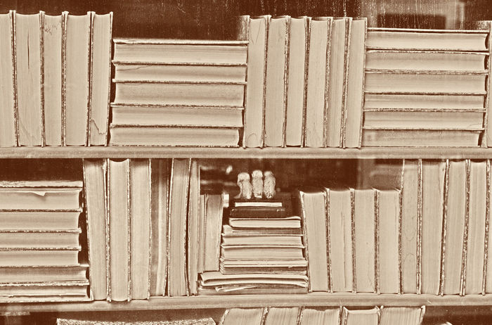 Old Books - Grain added Ancient Backgrounds Book Books Bookshelf Bookstore Business Collection Conceptual Education Hardcover Knowledge Large Group Of Objects Library Literature No People Nostalgia Old Old-fashioned Pattern Retro Retro Styled Sepia Stack Vintage