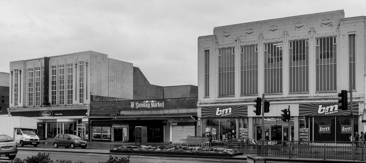 Art Deco shops, Morecambe Architecture Morecambe Black And White Monochrome