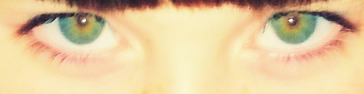 Blue Green Eyes