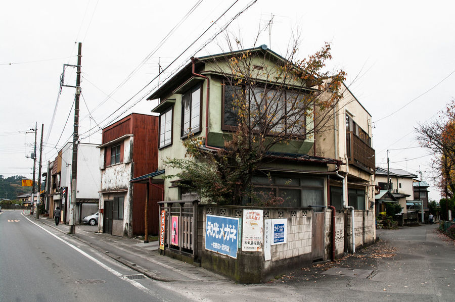 Architecture Building Exterior Built Structure Japan No People Old Buildings Old House Street Tochigi EyeEmNewHere