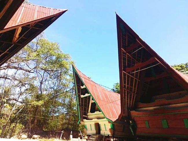 House Batak  Bataknese Architecture History Cultures Built Structure Travel Tourism Samosir Island  NorthSumatra INDONESIA