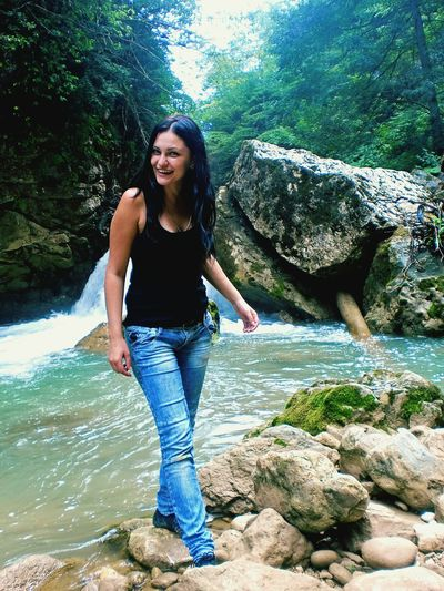 река-водопад гуамское ущелье природароссии , Frends Happy минутысчастья