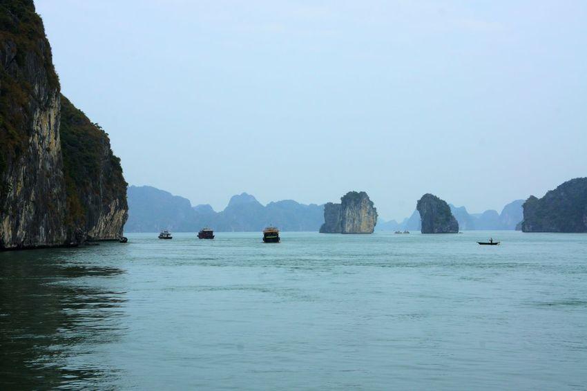 Halong Halong Bay Vietnam Halongbay