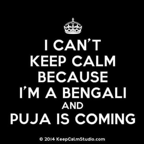 Wohooo!!!! And only 27 days left!!!!! DuRgA_PuJa Fun Excitementoverload Enjoyment Cantwait