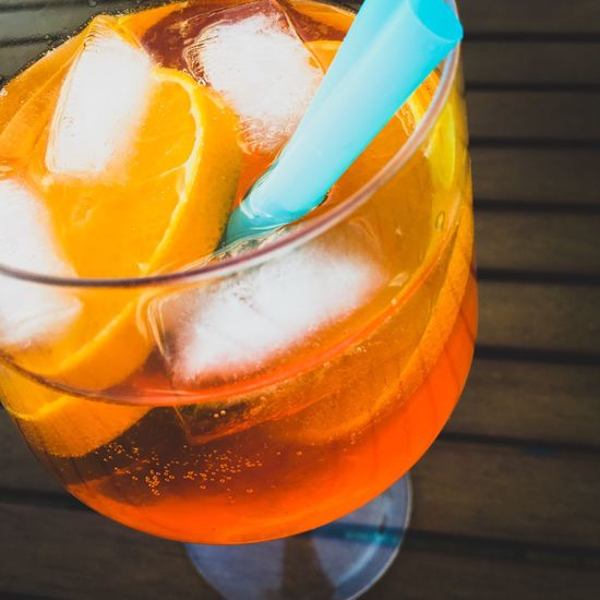 Catching the Sun Cocktail Cocktails Orange Aperol Spritz Summertime Enjoying Life Enjoying The Sun Have A Drink Good Mood IPhoneography Iphone6s Glass Drinks Drink Straw Ice Ice Cubes Aperol Cool Chilled The Essence Of Summer Wine Moments