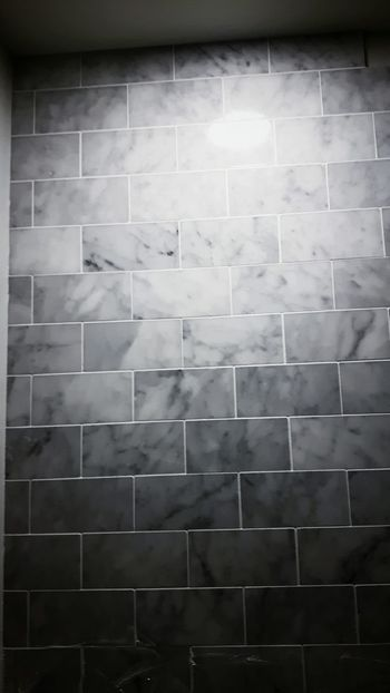 Grout Tiled Wall