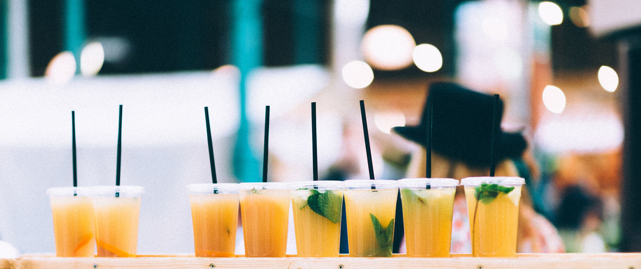 Close-up Day Drink Drinks Focus On Foreground Indoors  Lemonade No People Summer Paint The Town Yellow