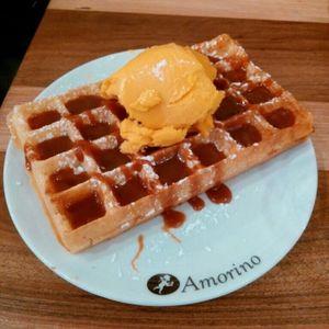 Waffles Ice Cream Manga Caramel Thebest