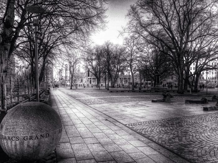 Square Wintertime In Sweden Raoulwallenberg The Raoul Wallenberg Square In Stockholm...