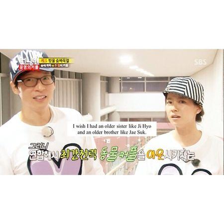 Yes! Runningman Songjihyo Yoojaesuk