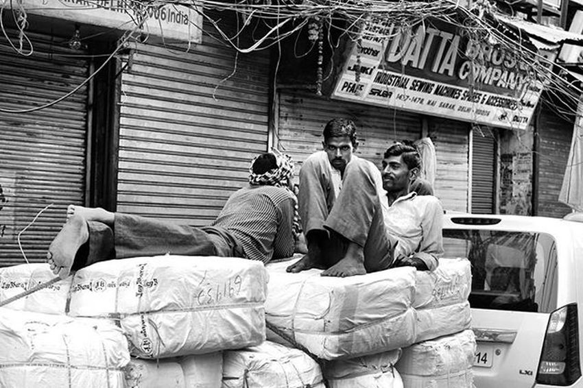 """ Loaded "" Chandnichowk Street Early Morning Coworkers Streetphotography Blackandwhite B &w Streetportrait Portrait_shots Portalite Ig_india Ig_Delhi Delhi_igers DelhiGram Delhidiaries Indianphotography Delhiwale _soi Delhi India Incredibleindia Travel Travelphotography"