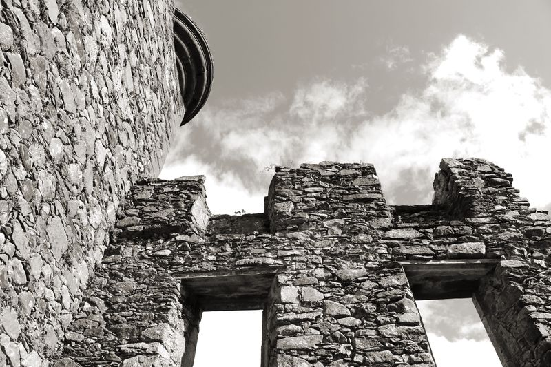 Architecture Built Structure Low Angle View Old Ruin History Ancient Outdoors Building Exterior Scotland