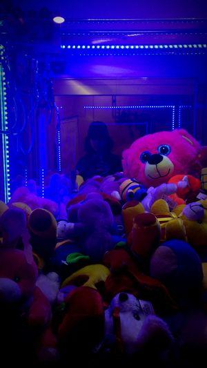 creepy? Clawmachine Dark Neon Eyeemphotography Grunge Night Fun Multi Colored