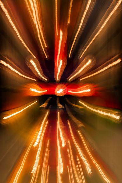 flash Motion Illuminated Long Exposure Abstract Glowing Blurred Motion Light Trail No People Red Night Backgrounds Orange Color Speed Lighting Equipment Full Frame Exploding Pattern Multi Colored Studio Shot Light - Natural Phenomenon Bright Light