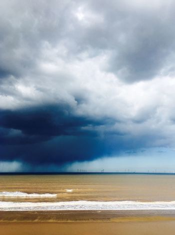 Storm brewing over Tunstall Beach, Yorkshire UK The Great Outdoors - 2016 EyeEm Awards Mobilephotography ShotOniPhone6 EyeEm Best Shots Eye4photography  Shootermag IPhoneography EyeEm Nature Lover